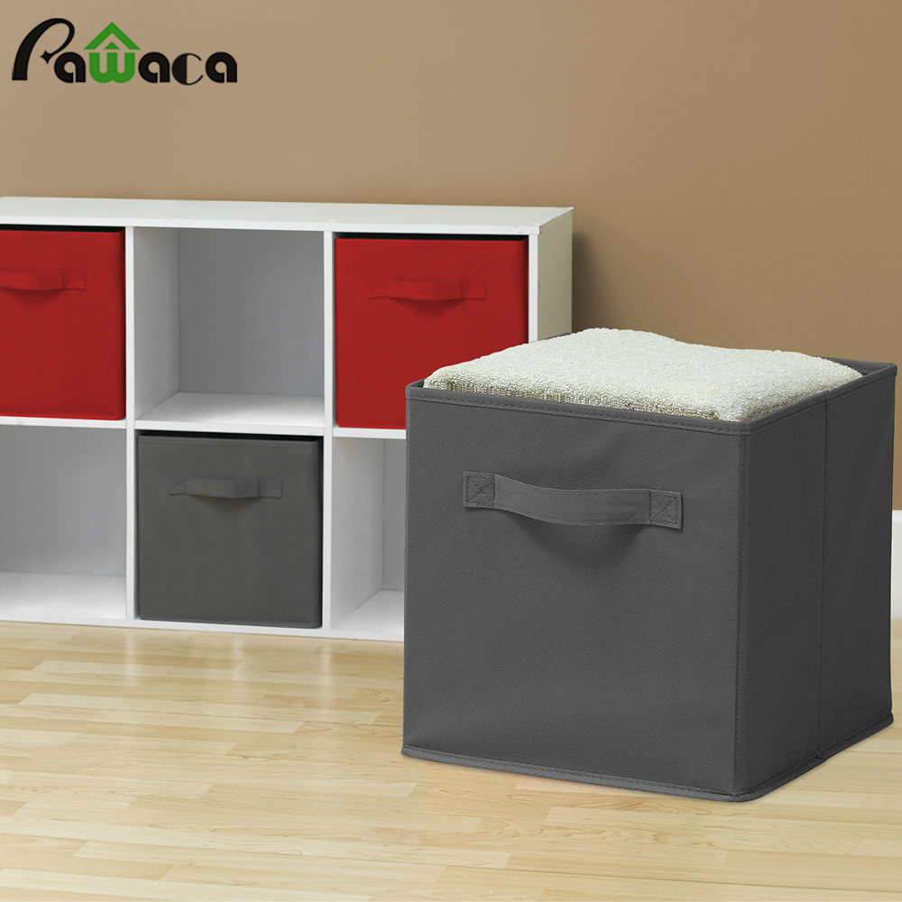 Charmant Home Fashionable Decorative Sundries Storage Box Foldable Cabinet Cloth  Storage Cube Basket Bins Organizer Containers Drawers  In Storage Bottles U0026  Jars ...