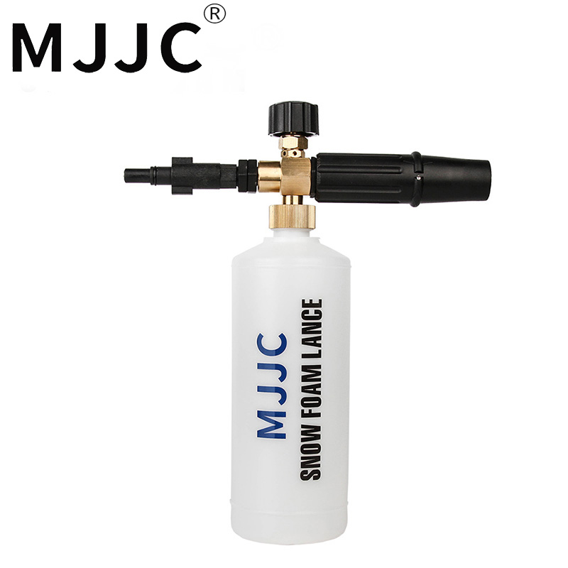 Lança da espuma da neve da marca de mjjc para skil 0760/preto & decker/makita/ar azul/foamer duas vezes/série de bosche aqt após o ano 2013