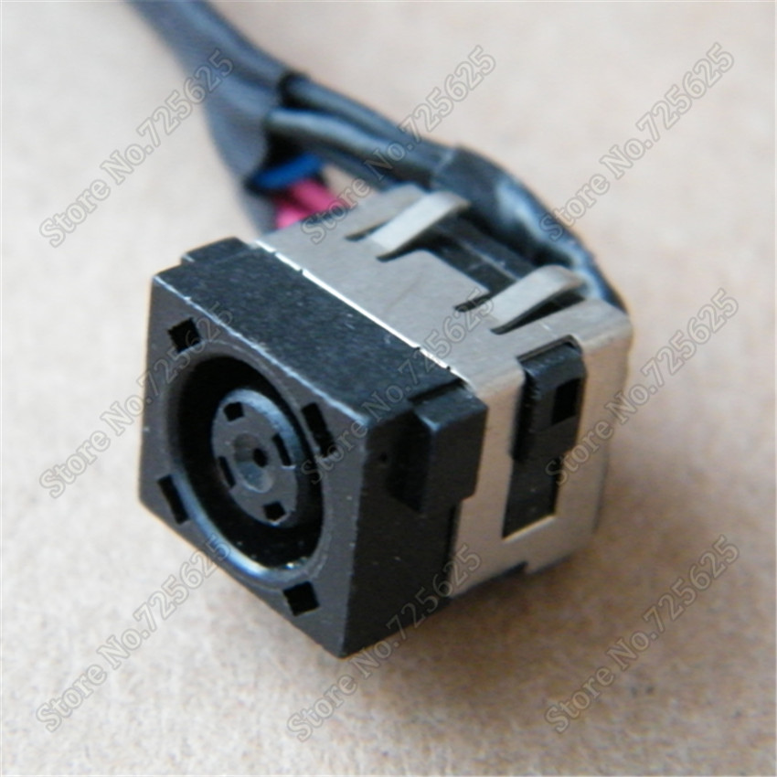 Original DC Power Jack SOCKET Cable Harness for Dell Alienware 17 R2 R3 P43F TO