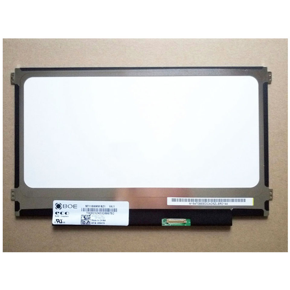Matrix for Laptop 11 6 5D10K38951 NT116WHM N21 For LENOVO IDEAPAD 100S 11IBY 1366X768 HD 30Pin