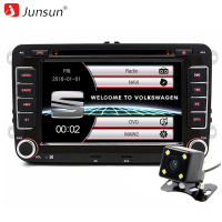Junsun 7 Inch Capacitive Screen 2 Din Car DVD Player For Seat Altea Leon Toledo VW
