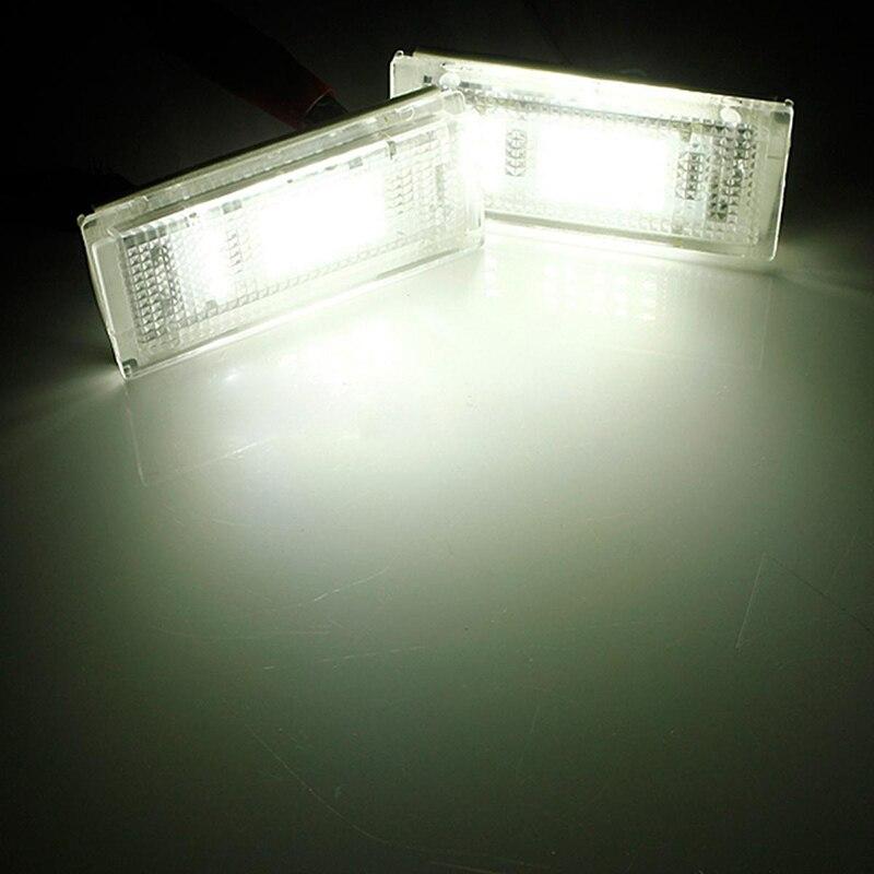 2x Новый 18 светодиодный ошибок светодиодный номерной знак Light 6000 К HID Белый для BMW E46 4D 5D седан 4dr 323i 323is 325i 325xi 330i