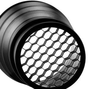 Image 4 - Godox SN 02 Conical Snoot Honeycomb Grid Light Beam Tube for Universal Mount Studio Strobe Flash K 150 K 180 250SDI 300SDI