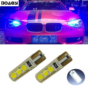 BOAOSI 2x LED T10 W5W Car Parking Light Wedge Light For BMW E46 E39 E91 E92 E93 E28 E61 F11 E63 E64 E84 E83 F25 E70 E53 E71 E60 image