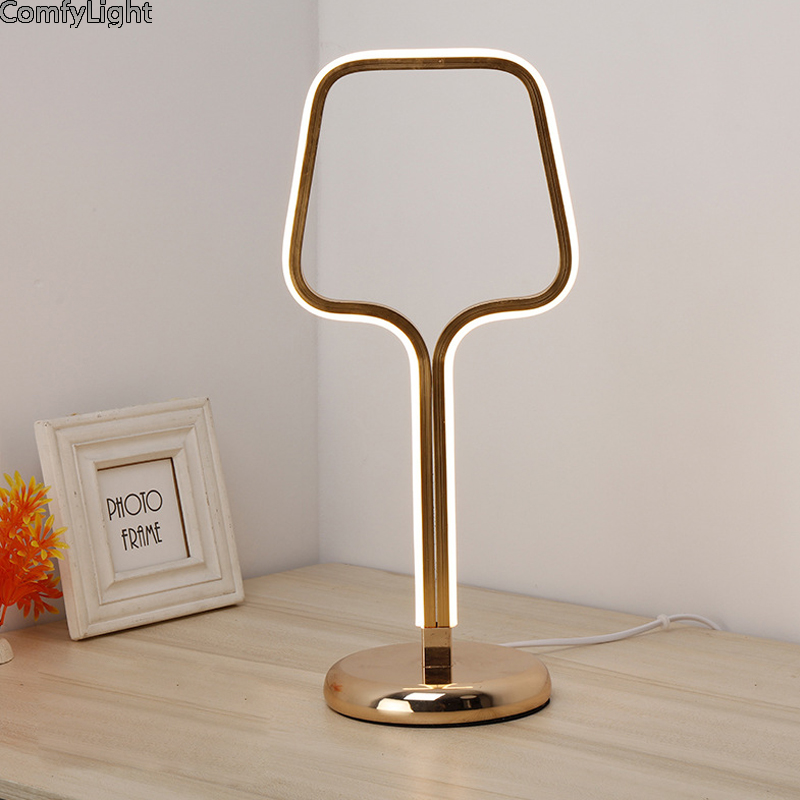 European Style Table Lamp Wooden Bedside nordic desginer Lampshade lamparas de mesa Desk ...