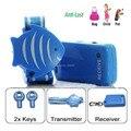Anti-Perda de Alarme de Segurança Conjunto incluindo Chaveiro Receptor e 433.92 MHz Transmissor Pulseira (crianças, animais de estimação, sacos)