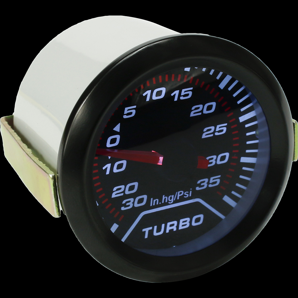 2inch 52mm Universal Car Auto Led Turbo Boost Gauge Vacuum Press Gauge Smoked Dials Face Psi Making Things Convenient For The People