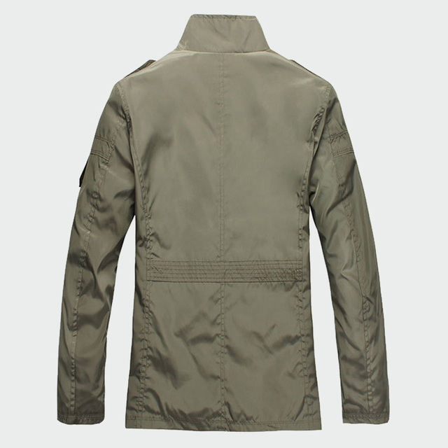 Fashion Thin Men's Jackets Hot Sell Casual Wear Korean Comfort Windbreaker Autumn Overcoat Necessary Spring Men Coat M-5XL ML091 4