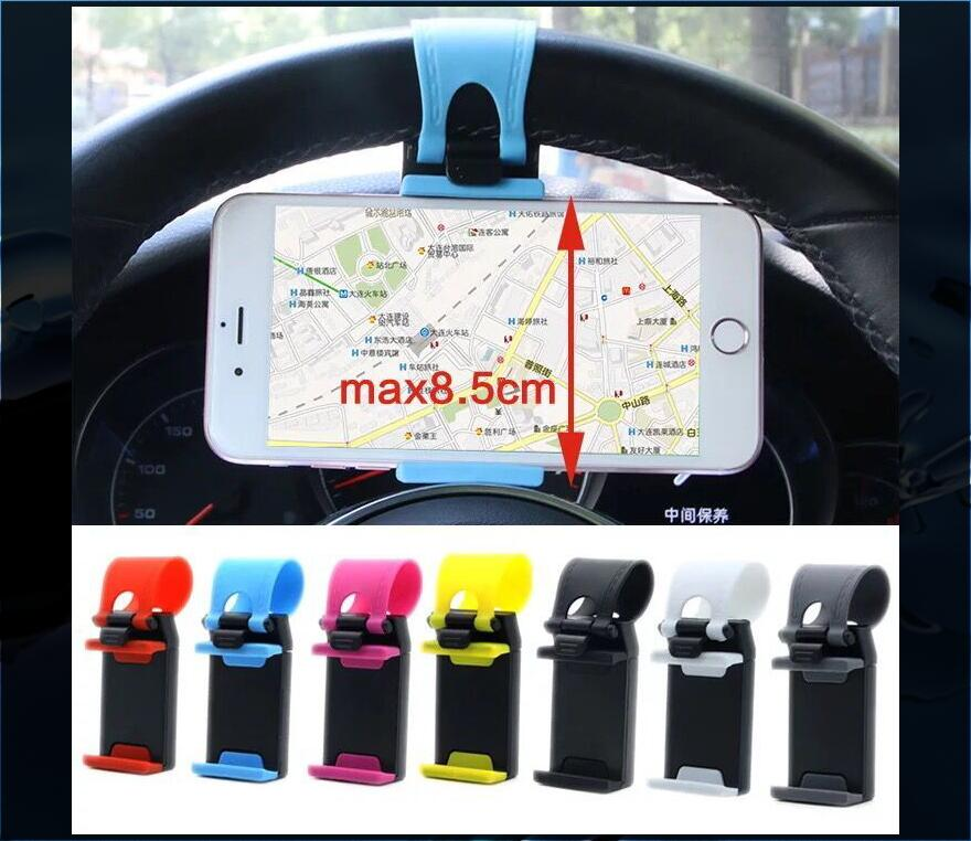 Universal Car Steering Wheel Mobile <font><b>Phone</b></font> <font><b>Holder</b></font> Bracket For <font><b>Mazda</b></font> 2 <font><b>Mazda</b></font> 3 <font><b>Mazda</b></font> 5 <font><b>Mazda</b></font> <font><b>6</b></font> CX5 CX-5 CX7 CX9 Atenza Axela image