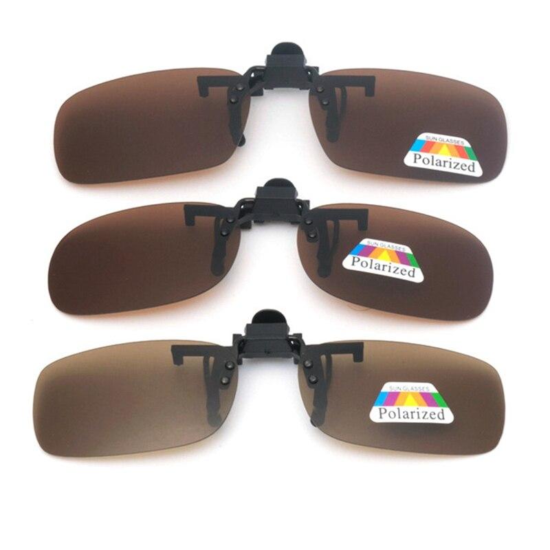 Car Driver Goggles Anti Polarized Sun Glasses Driving Night Vision Lens Clip On Sunglasses Auto Interior Accessorie