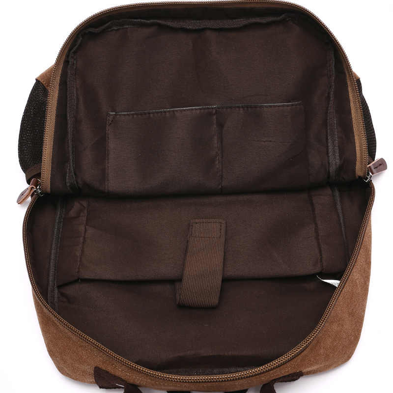 ZOQW 2018 повседневные мужские рюкзаки для школы Холщовый Рюкзак для ноутбука мужская дорожная сумка рюкзак mochila masculina sac dos WYQ515
