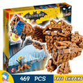 469 unids nuevo super heroes batman 07050 clayface splat attack diy modelo kit de construcción de bloques de regalos movie juguetes compatible con lego