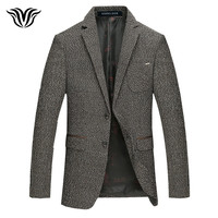 VORELOCE Brand 2018 New Autumn And Winter Men S Self Cultivation Suit Jacket Comfortable Fashion Wool