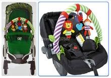 El asiento nuevo de carrito que se lleva los jugetes de móvil musical de bebé con alta calidad a lo largo del viaje Arco Desarrollo los juguete para los bebé 0-12 meses