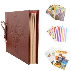Image 3 - Vintage 80 صفحة كرافت الصفحات الورقية مجموعة من البطاقات لدينا بلدي مغامرة كتاب الألبوم مع اليدوية DIY بها بنفسك أداة صور صور سجل القصاصات ألبوم صور