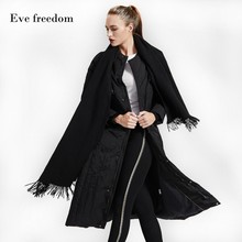 Down jacket women for winter 2018 loose down coat Eva Freedon brand Down Jacket for women long down Jacket woman large size18969 36v250w 26 front rear wheel electric bicycle small motor cycling conversion kit