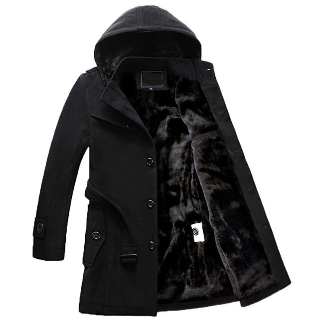 AYUNSUE Men's Black Jackets...