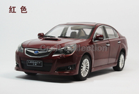 2014 1 18 Wine Red Subaru Legacy Diecast Model Car Toy Vehicles Aluminum Die Casting Product