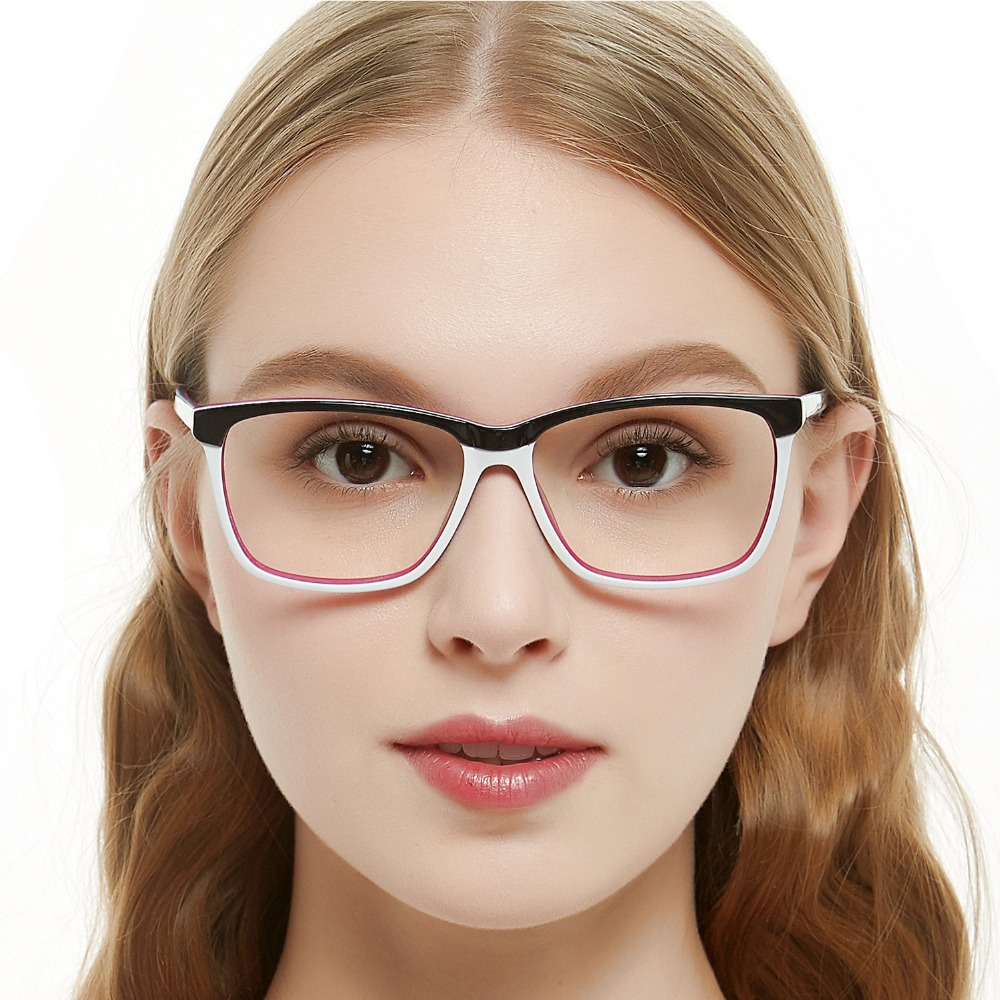 79ea9754fec Fashion big rim eyeglasses 54cm for women spring hinge prescription lens  medical optical glasses frame w-zoppi