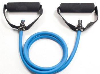 1 2m Latex Resistance Band Elastic Rubber Pull Rope Pedal Exercicer Chest Developer