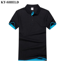 New 2017 Summer Men's Brand Polo Shirt Solid Short Sleeve Slim Polos Camisas Men Turn-Down Collar Casual Jerseys Polo Shirt