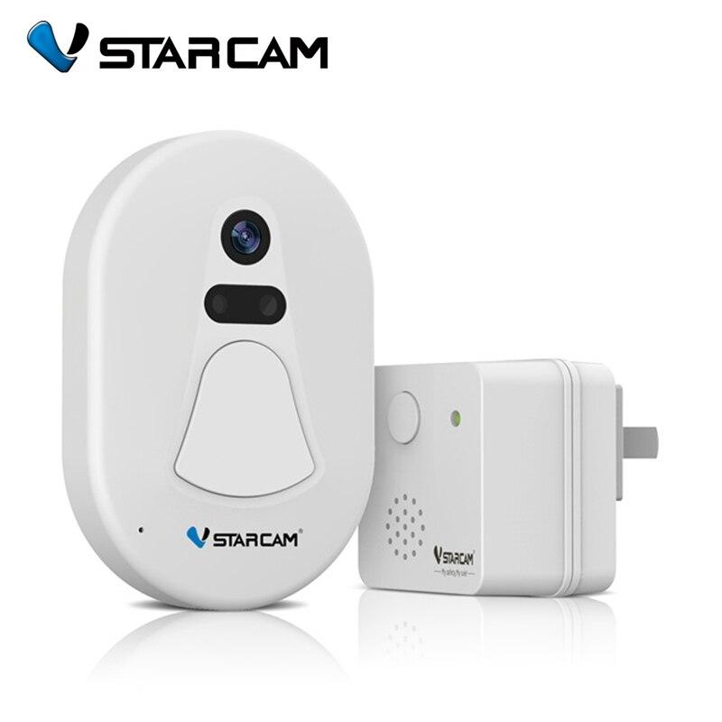 VStarcam D1 WiFi Snapshot Night Vision Doorbell Video Camera Support IOS Android Phone Cloud Server for Smart Home видеоглазок vstarcam d1