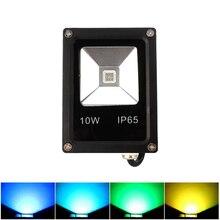Ultrathin LED flood light 10W aluminum body red green blue white AC85-265V waterproof IP65 Floodlight Spotlight Outdoor Lamp