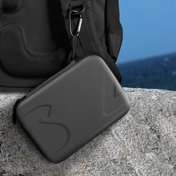 Mini PU Storage Handle Bag Box For DJI Osmo Pocket 3-axis Handheld Camera Carrying Portable Case Bags Can Be hung on a backpack