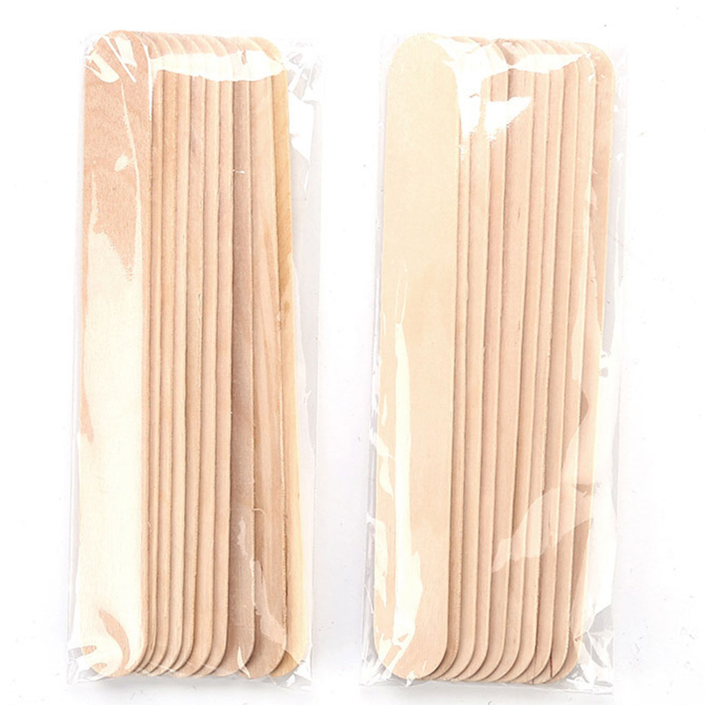 10Pcs/bag Beauty Wax Hair Removal Beans Applicator Stick Bar Depilatory Hard Wax Bikini Stick