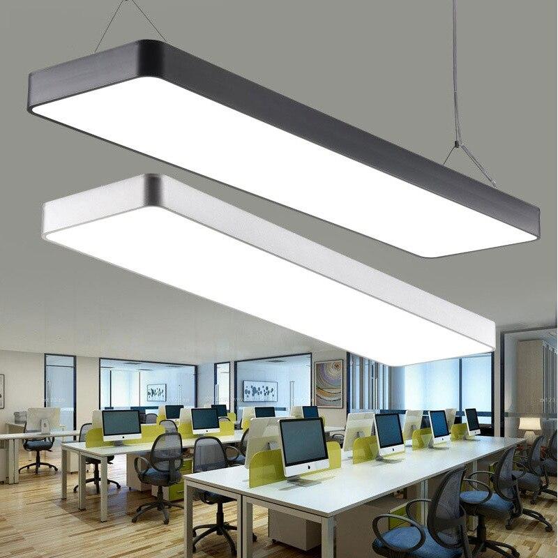 Здесь продается   lamp, office chandelier, ceiling lamp, ultra thin overhead line lamp, office long bar lighting office chandelier.  Свет и освещение