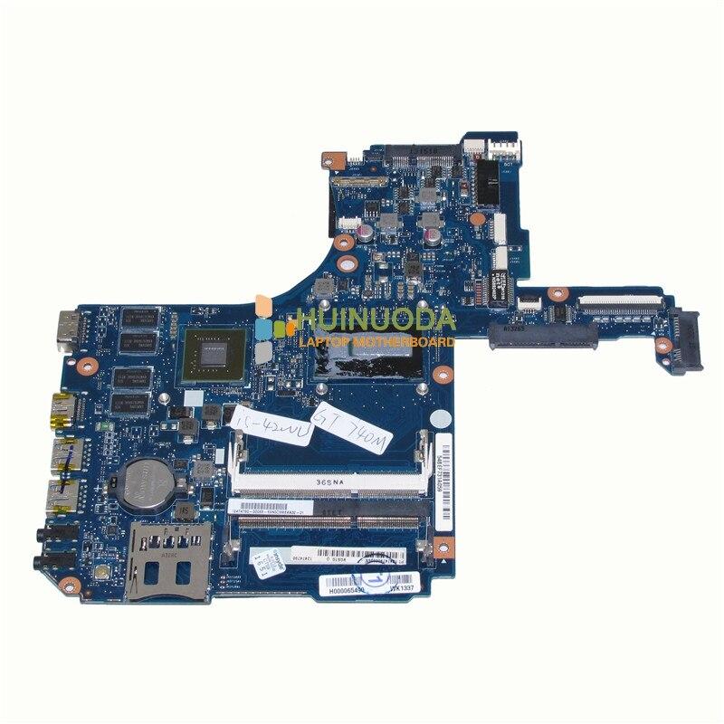 NOKOTION H000065490 carte Principale Pour Toshiba Satellite P50 P50-A Mère D'ordinateur Portable i5-4200U CPU DDR3 GeForce GT740M GPU