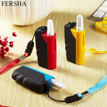 FERSHA mini e-cigarette kit for nicotine salts vape mod 650 mAh internal battery 1.5 ohm atomizing Third gear adjustable
