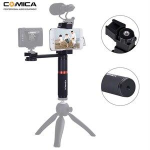 Image 3 - Comica CVM R3 смартфон видео Rig Рукоятка Ручка стабилизатор комплект для iPhone X 8 7 6s Plus для Samsung Huawei и т. Д.