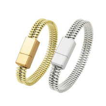 Outdoor Colorful Mini Micro USB Bracelet Charger Data Charging Cable Sync Cord For iPhone 6s 7 Android Type-C Phone