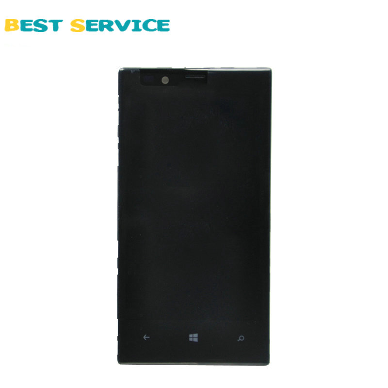 10Pcs/Lots For Nokia Lumia 720 LCD Screen Display with Touch Screen Digitizer Assembly + Frame Black Free shipping 10pcs lots for lg d820 d821 lcd screen display touch screen digitizer with frame assembly black free shipping