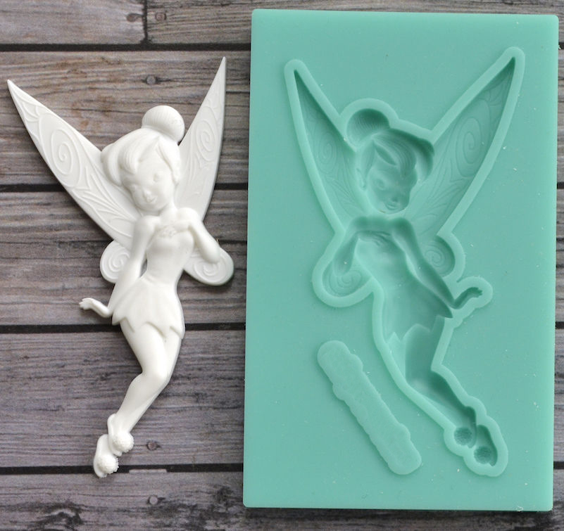 1 Piece Fairy Tinker Bell Silicone Mold