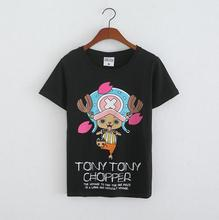 Cool ONE PIECE Cos T-shirt Chopper Anime Short Sleeve Summer Cotton Cartoon Women T shirt Multi Color Casual Tops tshirts