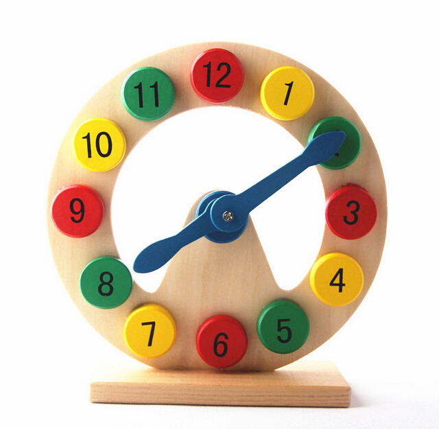 Learn to Tell Time Wooden Digital Clock Montessori ...