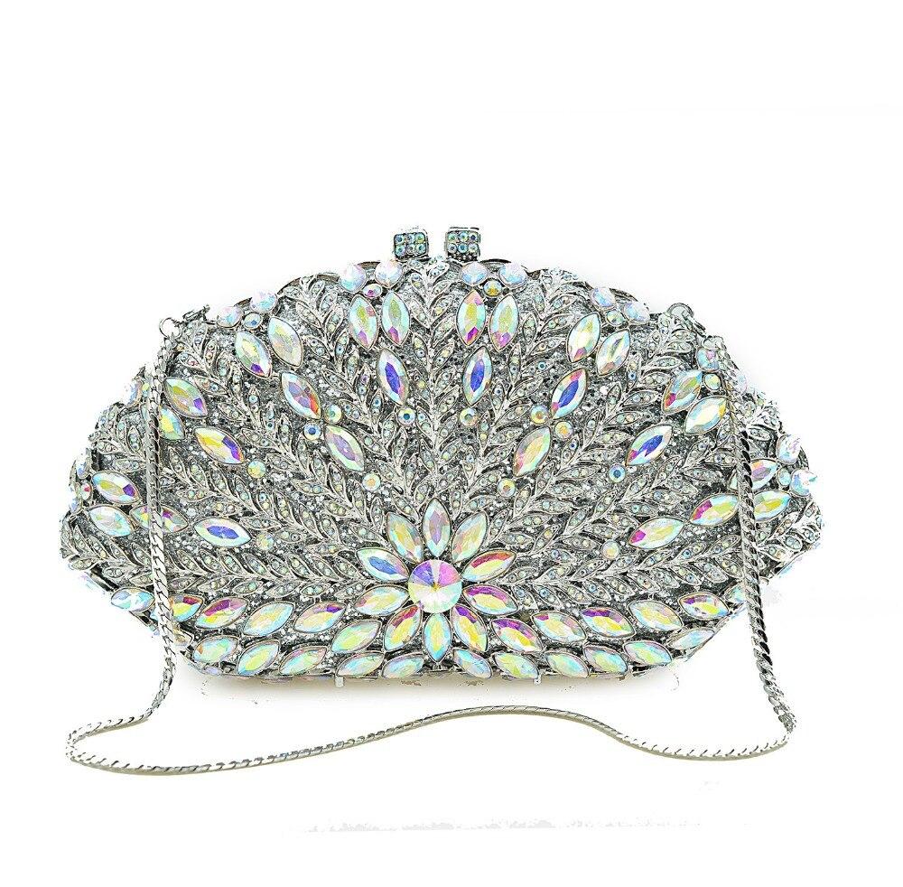 As Pictur Dames Vacances Jour Xiyuan Chaîne Cristal Soirée Main Same Élégant Embrayages De Femmes Parti Des Bandoulière Bourse À Diamant Color D'embrayage Sacs 4xqF4B1