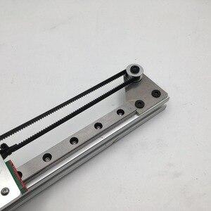 Image 5 - طابعة Funssor ذاتية الصنع بتحكم رقمي بالكمبيوتر Reprap 3D X axis 2020 الشخصي MGN12H مجموعة دليل الحركة الخطية بالسكك الحديدية