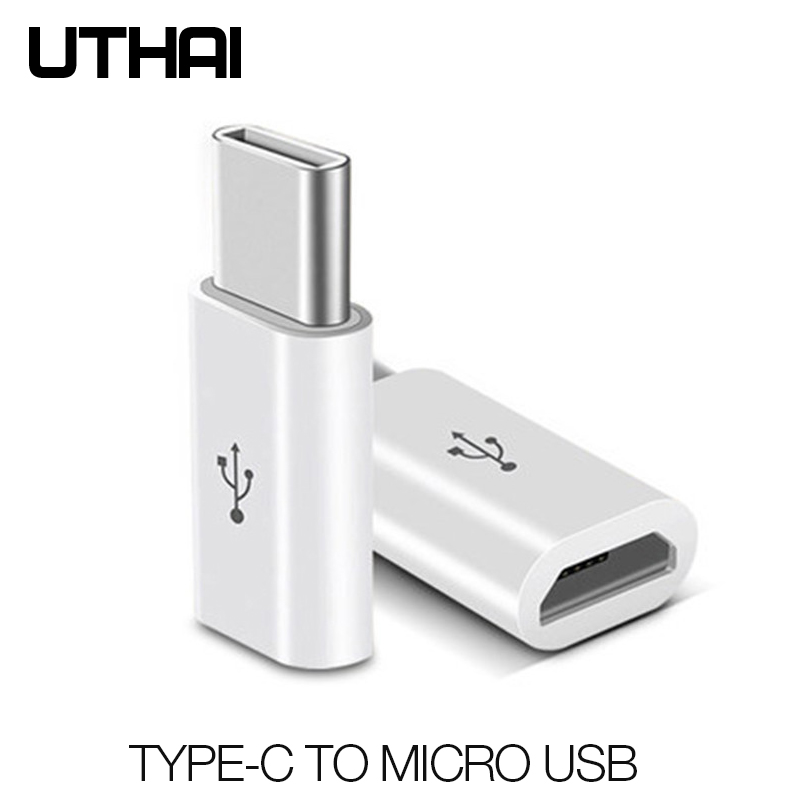 UTAHI C29 Type-C To Micro USB Adapter Android V8 To USBC Converter For Letv Xiaomi Mi 5X Oneplus Samsung S8 Plus NK-Shopping
