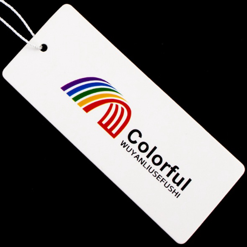 Customized Hang Tags/Trademark Manufacture Clothing Label /Clothing Price Paper Printed Tags Garment Label Custom Tags