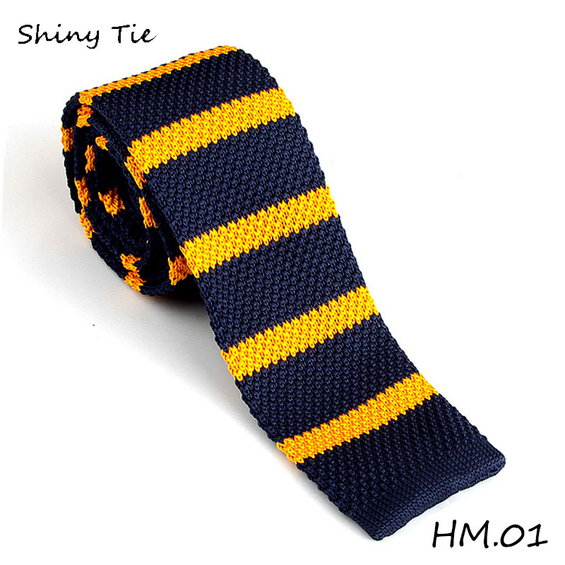 New Arrive Knitted Ties Knit Leisure Striped Ties Knitting Wool Neck Ties 100% New Commercial Men Ties