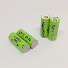 MasterFire New Version 100% Original For Panasonic 3.6V 18500 NCR18500A 2000mAh Rechargeable Battery Li-Ion Batteries 7 4v 2000mah rechargeable li ion battery bl 2000a for hi target ihand18 handheld computer