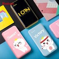 Yoobao Power Bank For Xiaomi Mi Ultra Slim 20000 mAh Power Bank 18650 portable backup battery charger PowerBank For iPhone 7 6 5