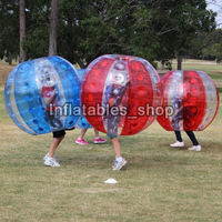 Free Shipping 100%TPU Material 1.5m Inflatable Bubble Soccer Ball Inflatable Bumper Ball Inflatable Zorb Ball Bubble Football