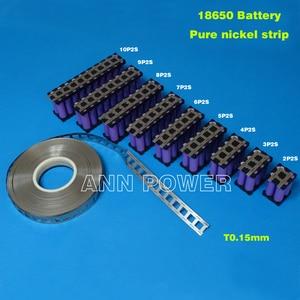 Image 4 - 18650 batterij zuiver nikkel riem 3 P 4 P 5 P 6 P lithiumbatterij nikkel strip Ion batterijen Ni plaat gebruikt voor 18650 batterij houder