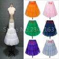 Venta caliente de 11 Colores Corto Longitud de La Rodilla Vestidos de Coctel Enagua Enagua Envío Gratis Corto Enaguas de La Enagua Del Vestido Corto