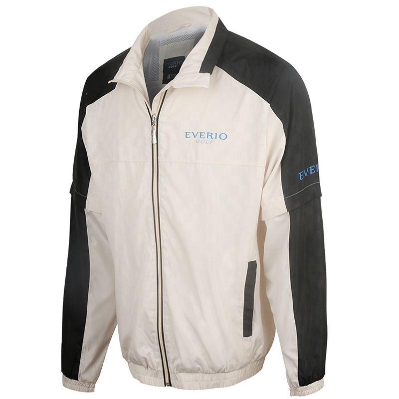 Veste de Golf manteau à glissière pour hommes imperméable à l'eau en plein air Golf coupe-vent sport vêtements masculins pour automne chemise de golf à manches longues ou vestes - 5