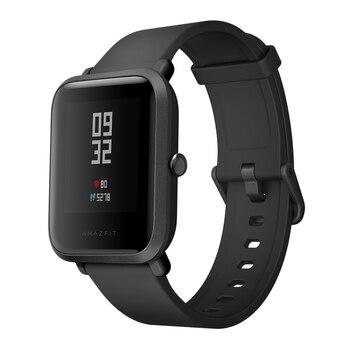 Darmowa wysyłka AMAZFIT Bip edycja młodzieżowa smartwatch gps GLONASS Bluetooth 4.0 pulsometr IP68 wodoodporny Android 4.4